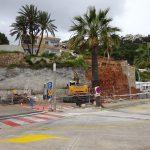 Repair work begins on Caleta wall in Xàbia Port
