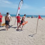 Arenal beach hosts tests for future Red Cross lifeguards