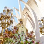The image of the Virgin of Loreto is venerated outside the church as a replacement for the traditional procession