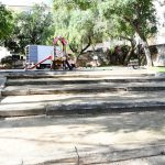 Renovation of the square in Thiviers has begun this week